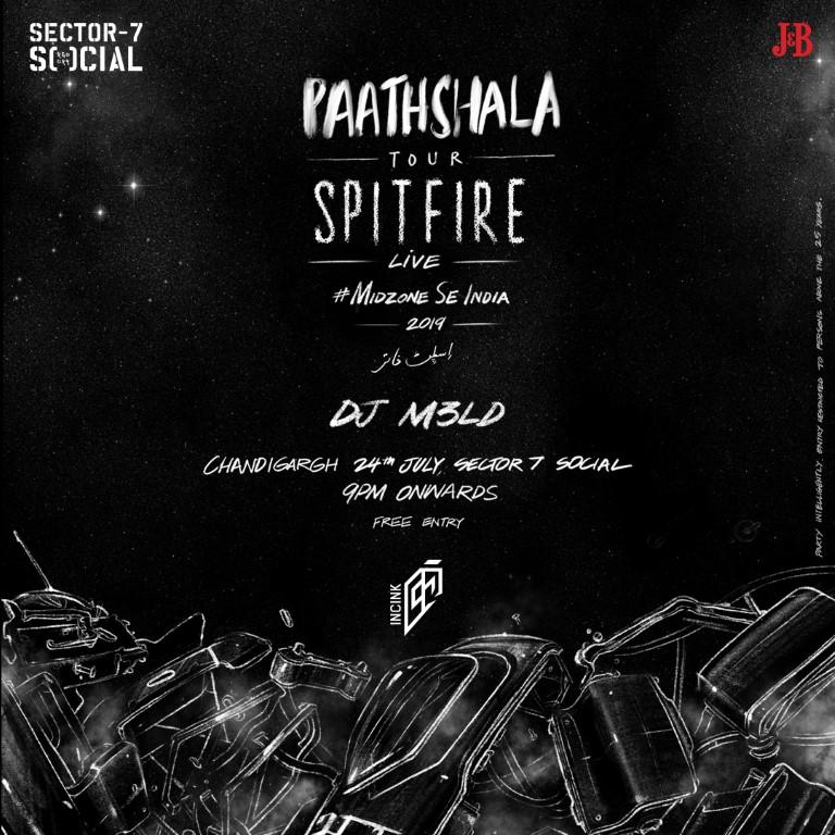 Social Offline x IncInk present SPITFIRE - PAATHSHALA EP Launch