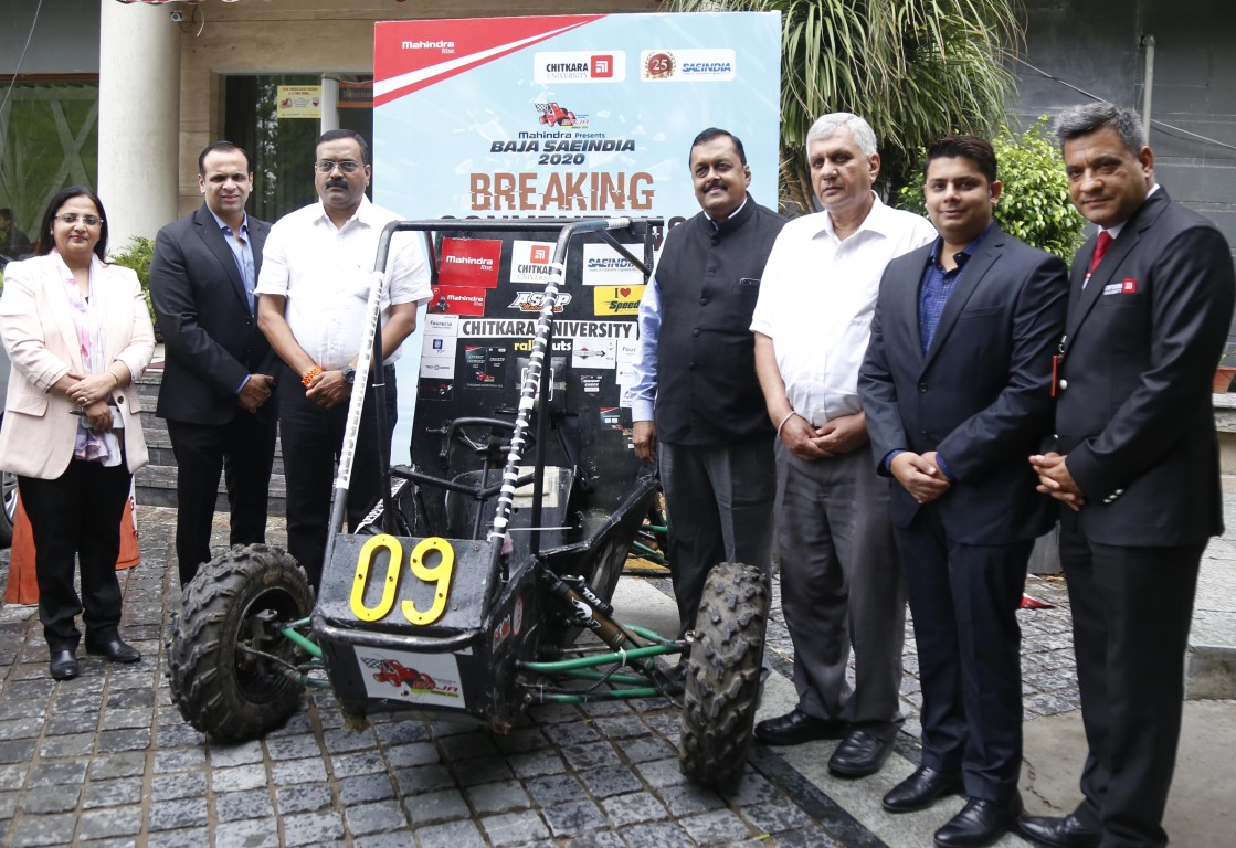 SAEINDIA & Mahindra BAJA SAEINDIA 2020 to be held in Chitkara University