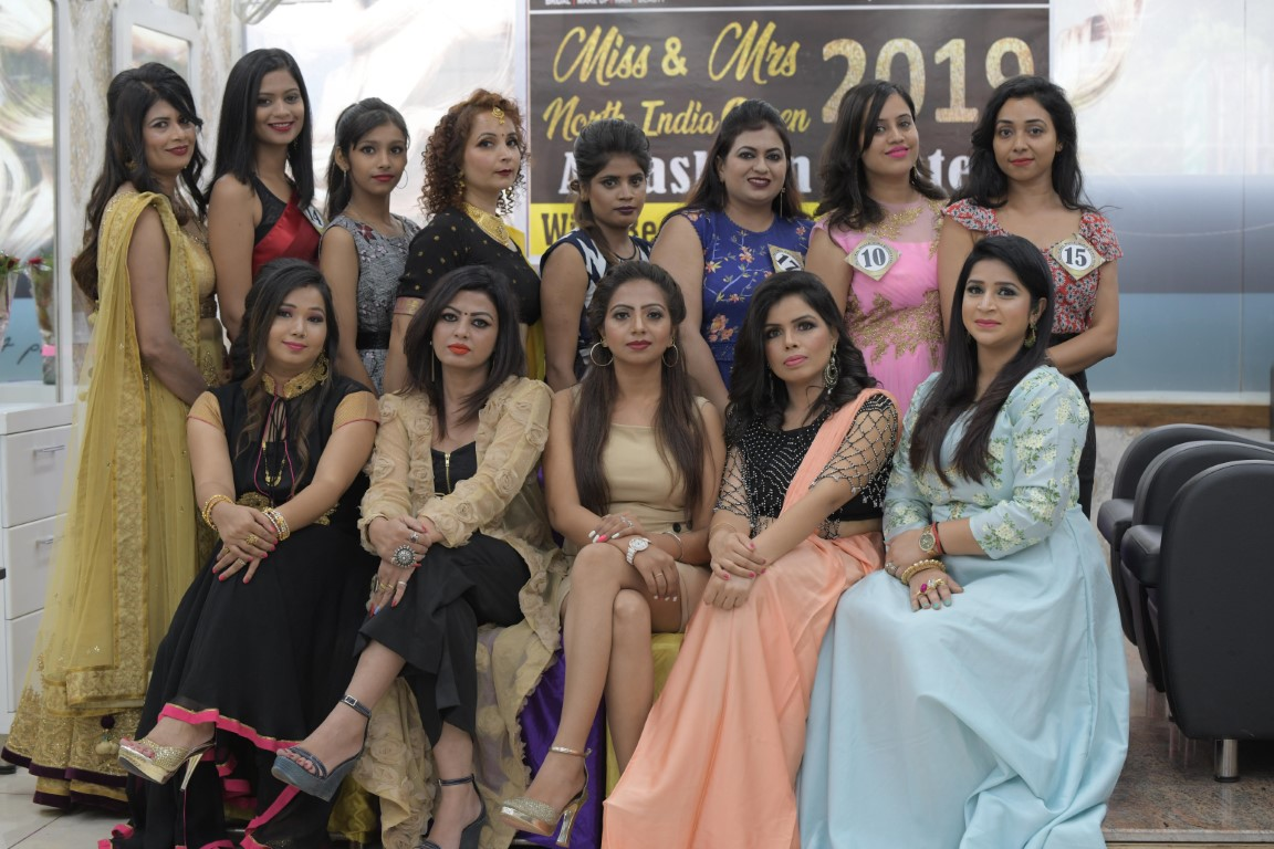 """Grooming Session for """"Ms. & Mrs. North India Queen 2019"""" held"""