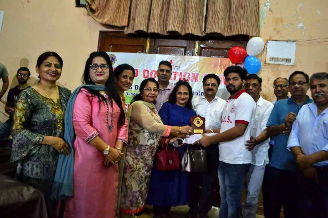 Blood Donation Camp organized by NSS DAV Sector 10 Chandigarh