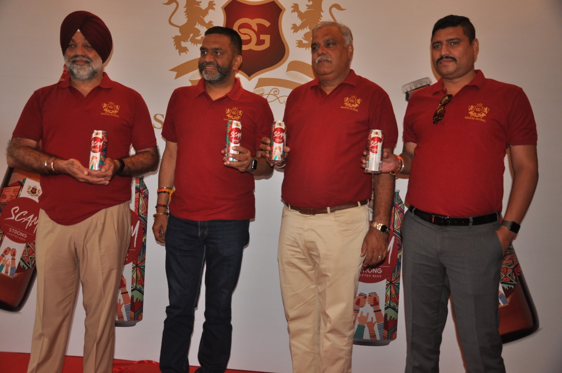 Chandigarh Beverage Industry Start-Up unveiled launched its first brand SCAM