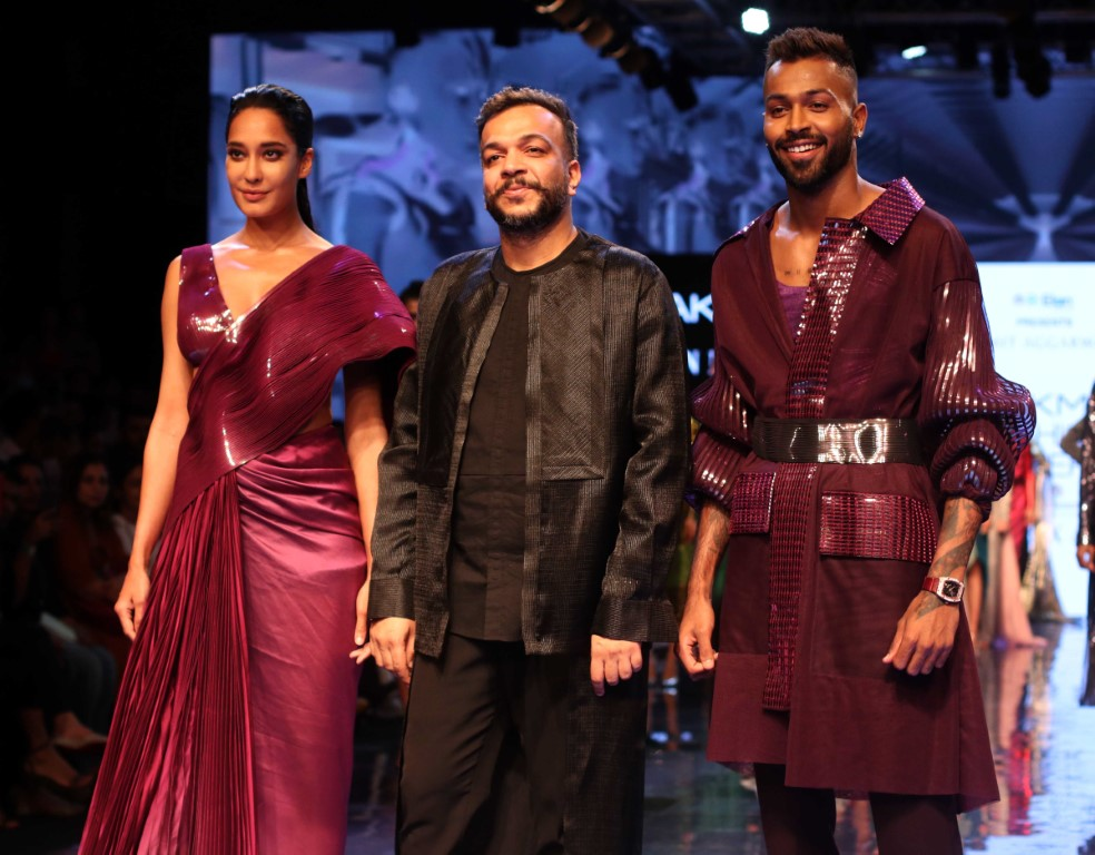 Day One at Lakmé Fashion Week Winter/Festive 2019 end with A High-Tech Fashion