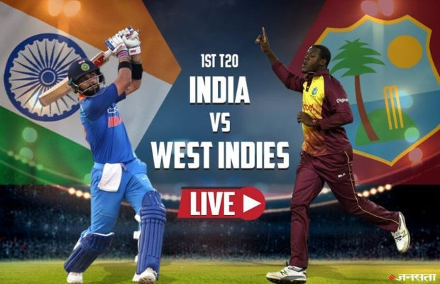 India vs West Indies Live Streaming 1st T20 Match 2019 Score TV Channels Ball by Ball Highlights