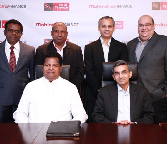 Mahindra Finance and Ideal Finance form NBFI Joint Venture in Sri Lanka