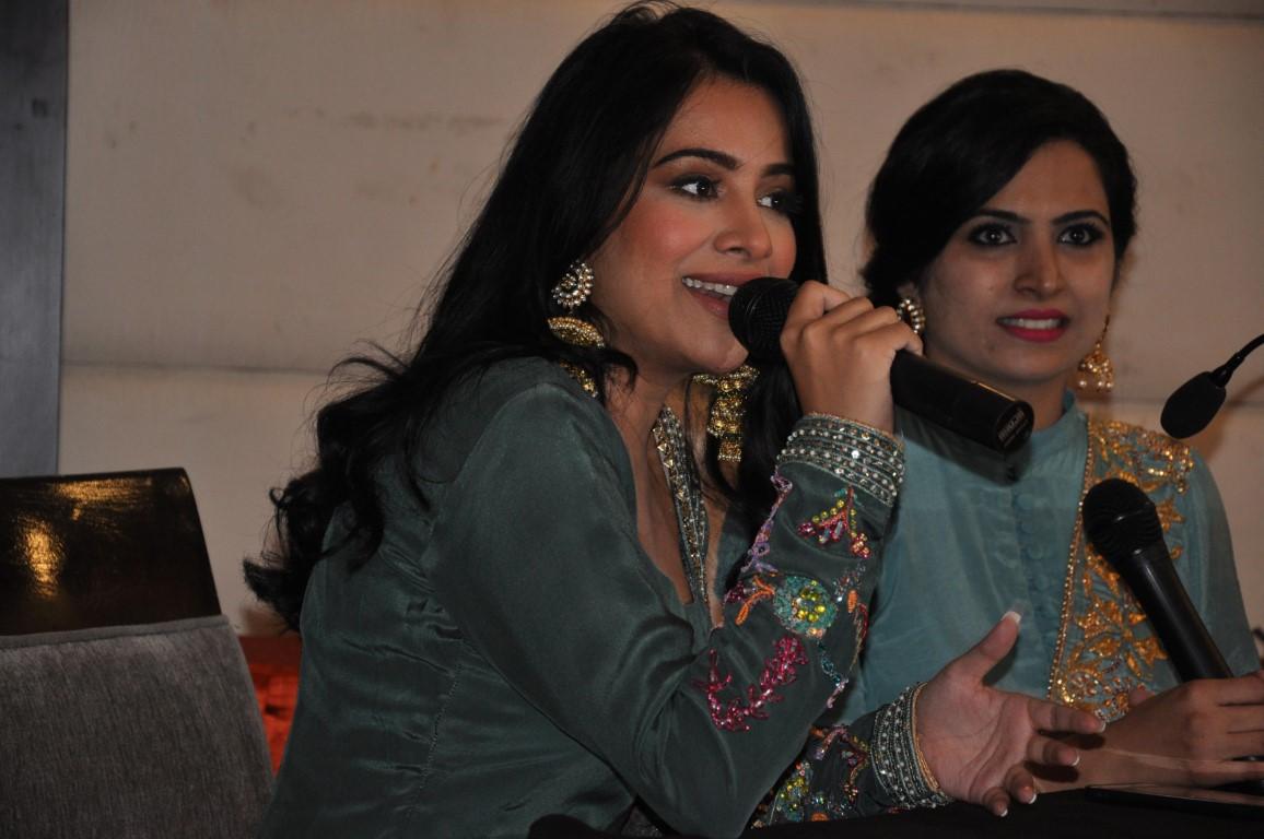 Fashion designer Nimrat Kahlon's first bridal series unveiled by Sara Gurpal