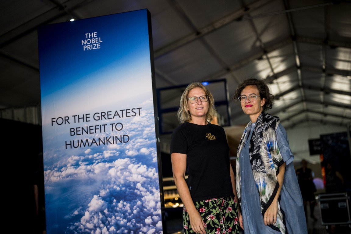 World premiere of exhibition demonstrating the contributions of Nobel Laureates