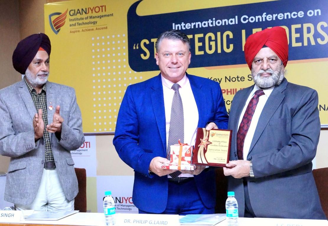 "GJIMT organized International Conference on ""Strategic Leadership"""