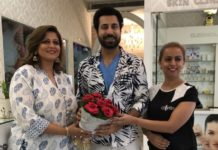 Binnu Dhillon Visits Cleopatra Salon & Makeovers
