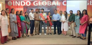 Fresher Day & Talent Hunt Celebrations at Indo Global Group of Colleges
