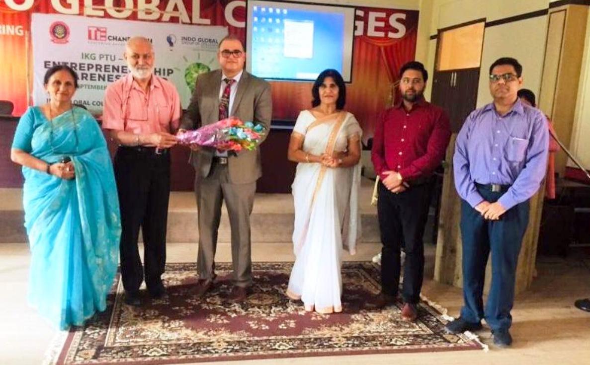 Indo Global Colleges organised employability and entrepreneurship development workshop