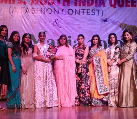 "Ms. & Mrs. North India Queen 2019"" Organised by Glam Zone Unisex Salon"