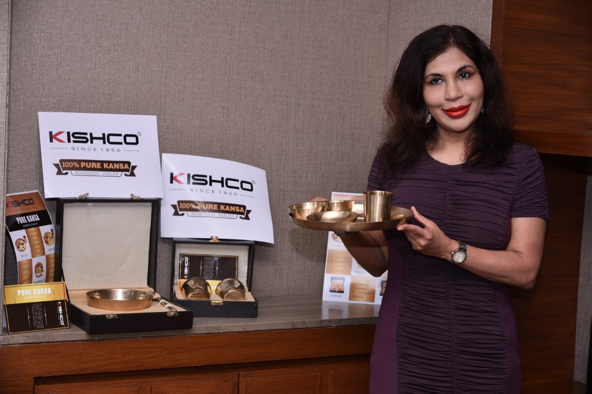 Cutlery brands of India, Kishco, introduces Pure Kansa Collection