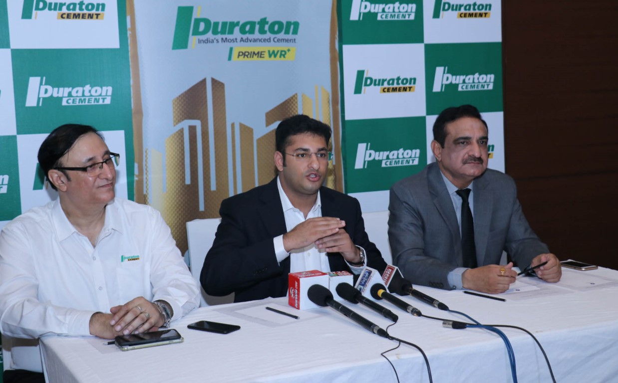 India's first cement Duraton 7X with vacuum-tight packaging announced