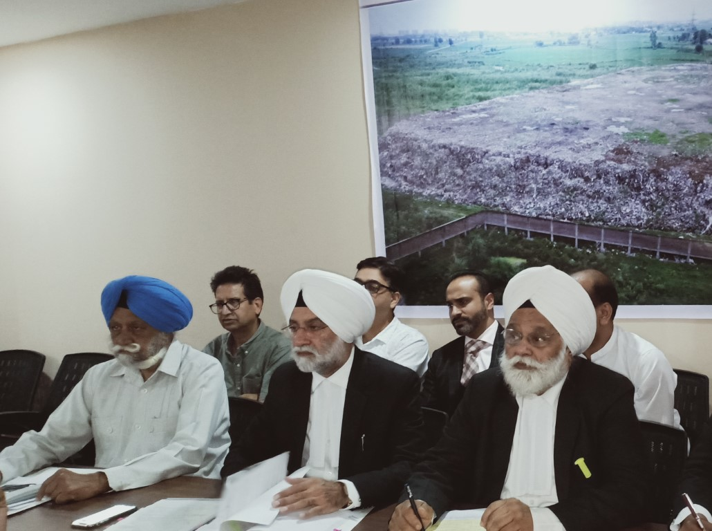 RWS of PSIEC Mohali demands to shift of Dumping Yard Mohali to Dera Bassi