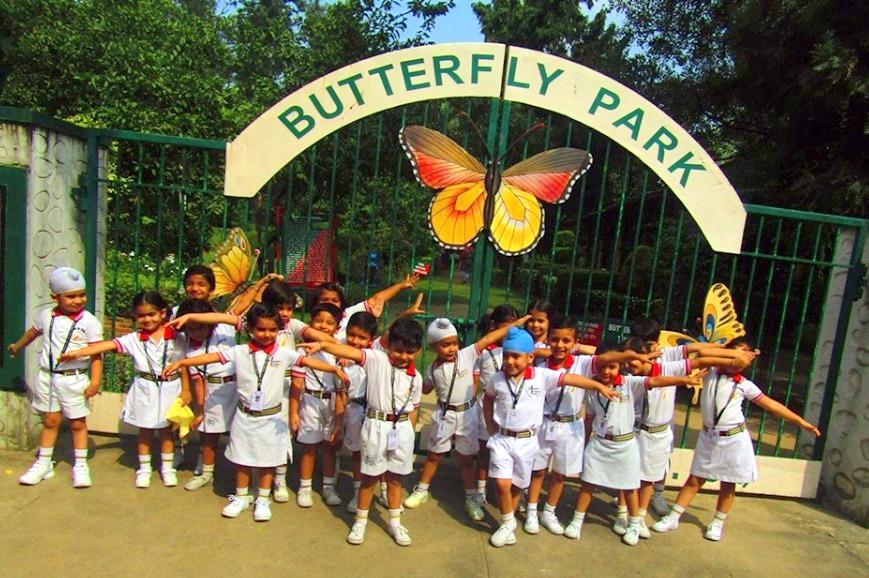 Kids 'R' Kids School students  Visited  Butterfly park