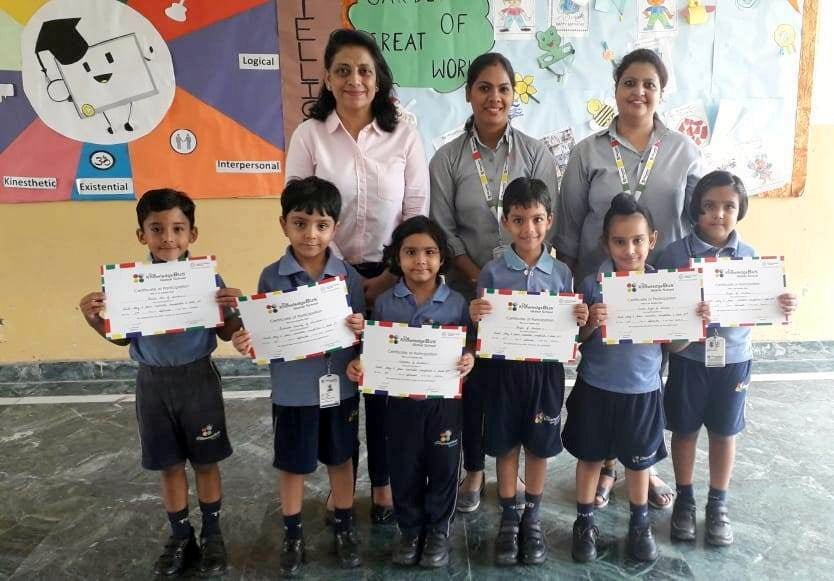 The Knowledge Bus School organised Recitation Competition
