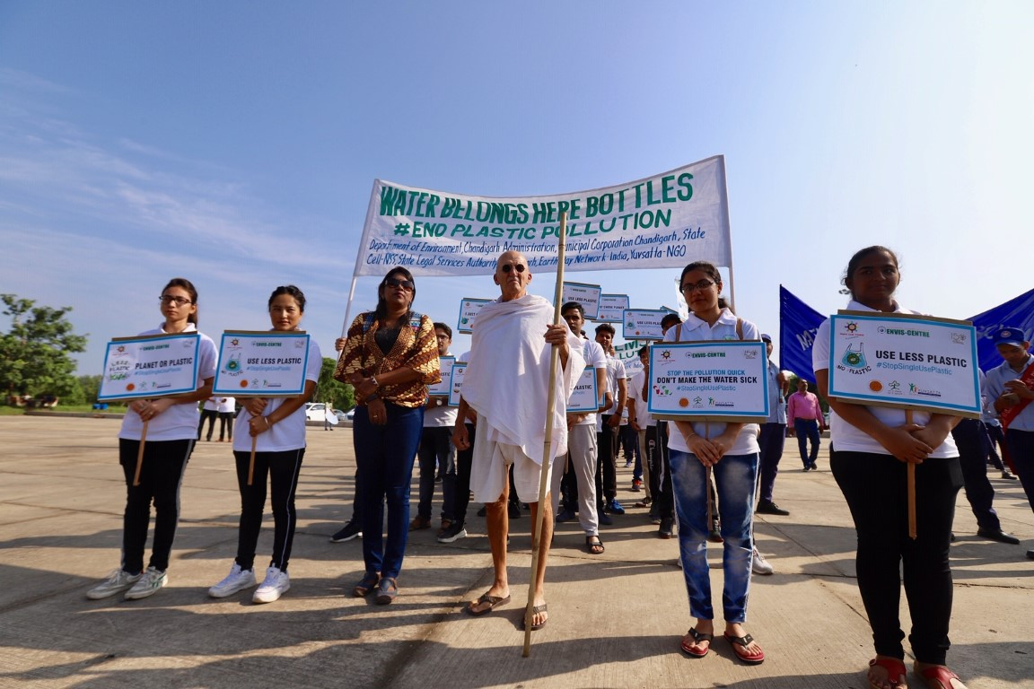14th GYPF ends with a global march to end plastic pollution