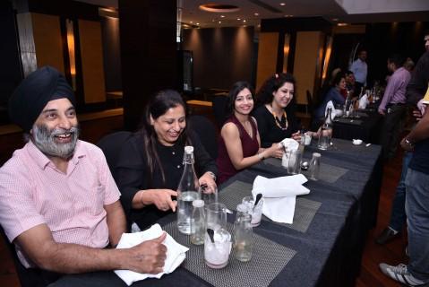 Iconic Rotary Dinner in the Dark at Taj Chandigarh