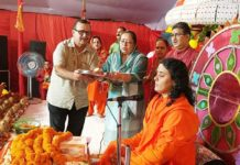 Devotees enjoyed the marriage ceremony of Shri Ram Janaki