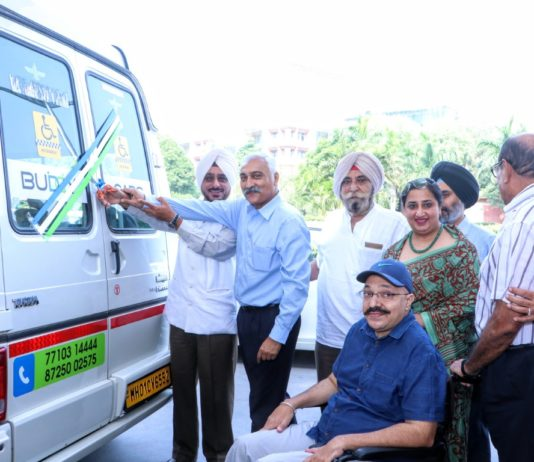 Cab service for the wheelchair-bound introduced at Fortis Hospital
