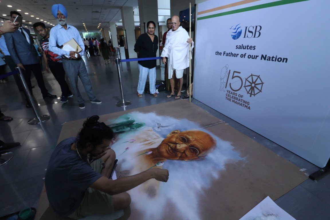 Art and thought come together to promote Gandhian ideology and sustainable development