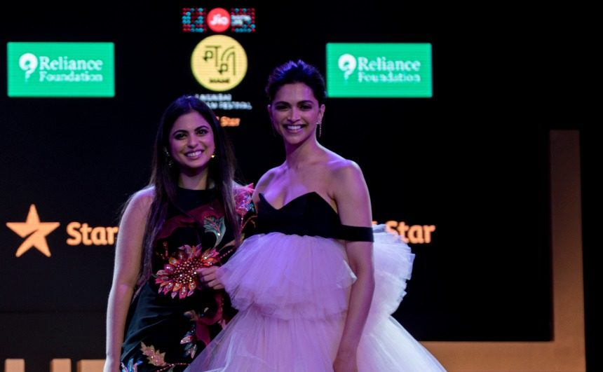 Deepika Padukone & Isha Ambani inaugurate the 21st edition of Jio Mami Film Festival