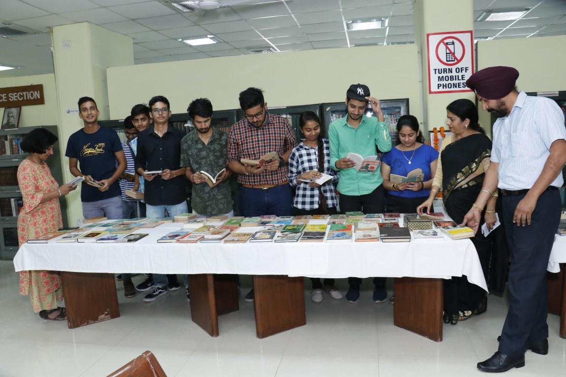 DAVC-10 Library celebrates 150th Birth Anniversary of Mahatama Gandhi