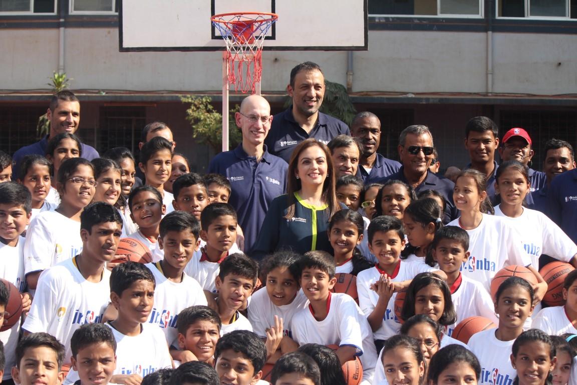 Nita Ambani to present ceremonial 'Match Ball' to NBA