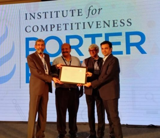 Tata Chemicals wins prestigious Porter Prize 2019