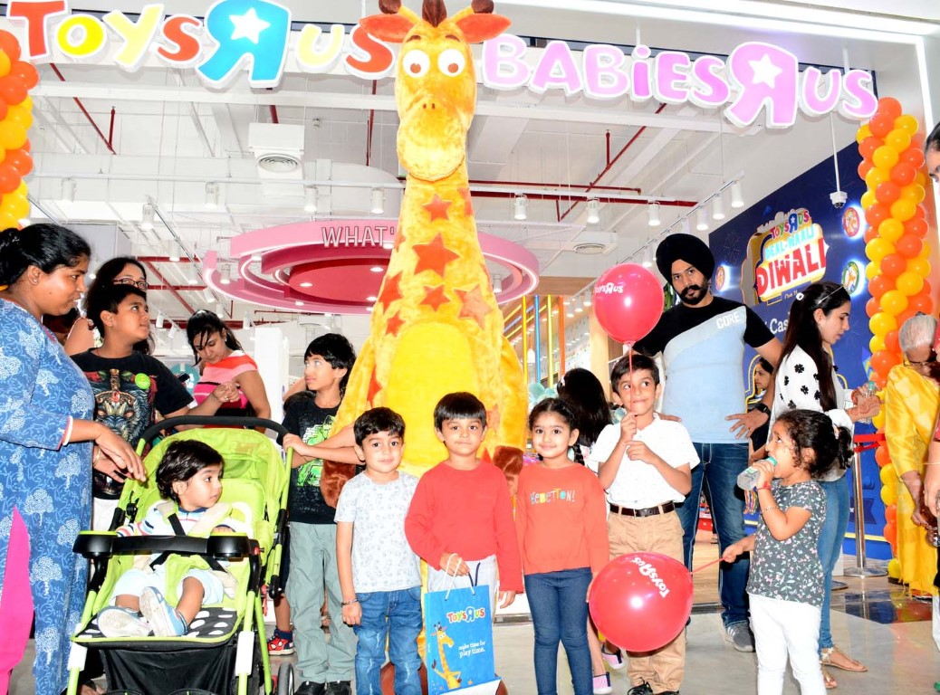 """Toys""""R""""Us launches its first store in Chandigarh"""