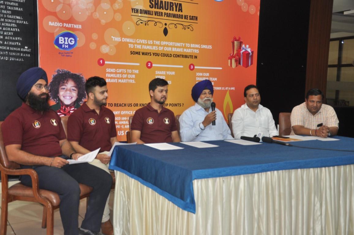 "Shaurya Ye Diwali Veer Pariwar Ke Saath'"" Campaign Unveiled"