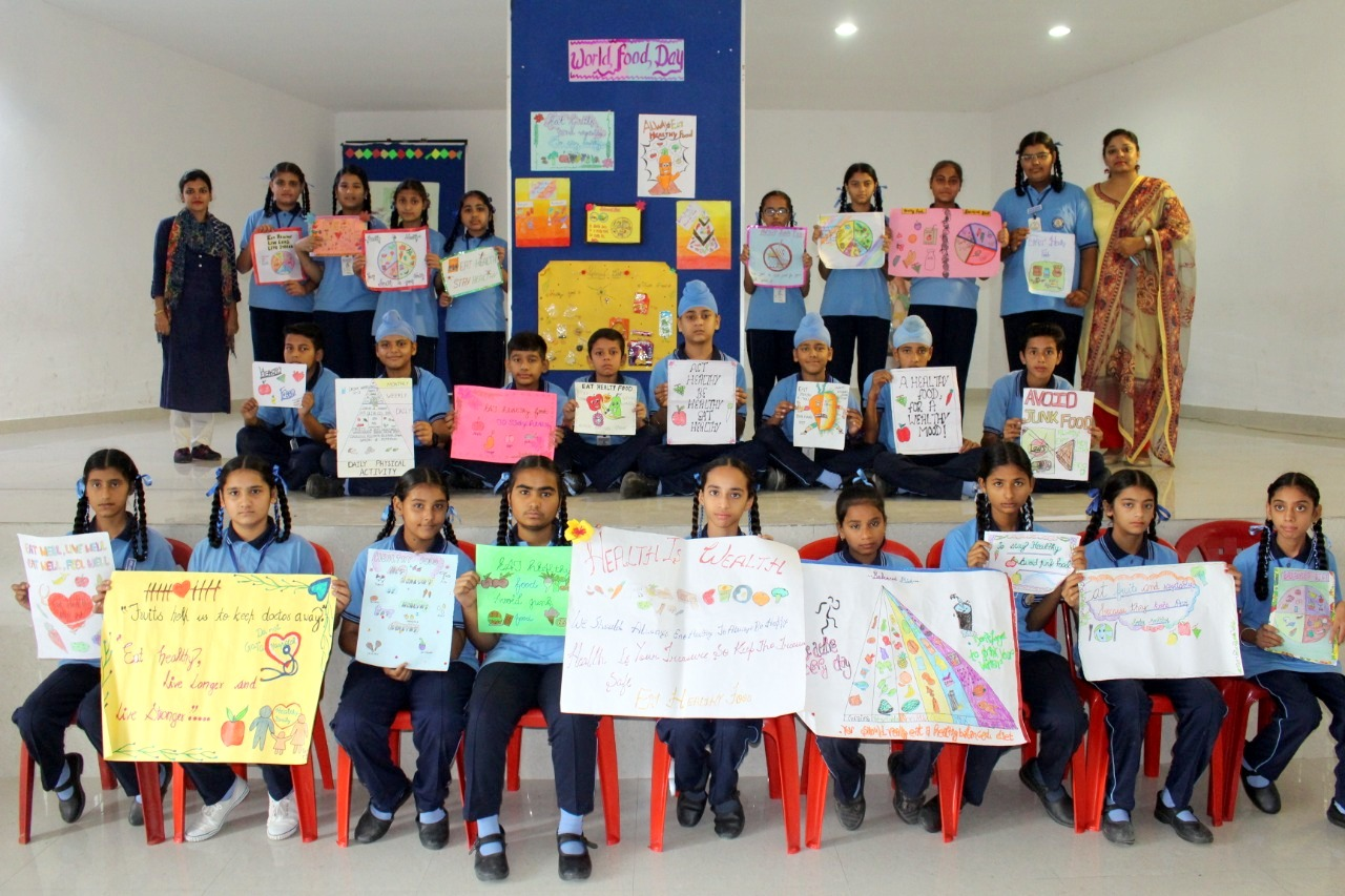 World Food Day celebrated at Indus Public School