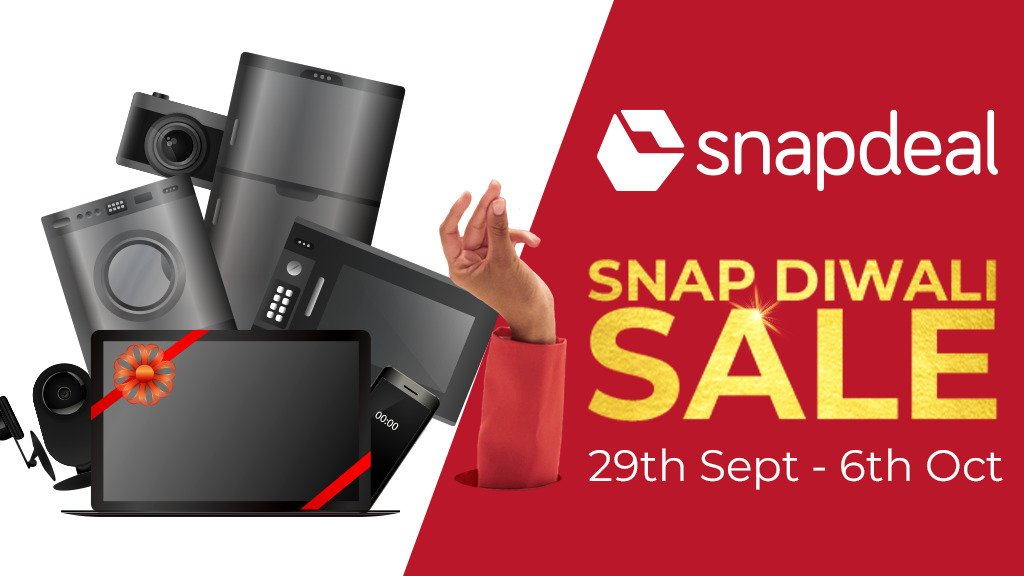 Snapdeal's Snap Diwali sale