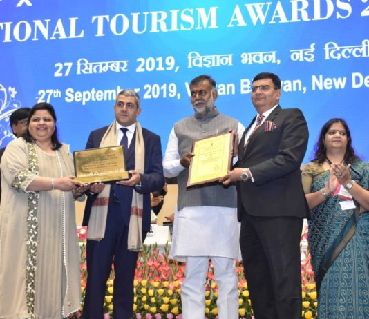 Jaypee Greens Golf and Spa Resorts awarded with Best Tourism Friendly Golf Course