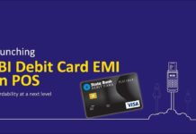 SBI launches Debit card EMI on POS