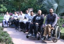 First of its kind Wheelchair Band Flowing Karma launched