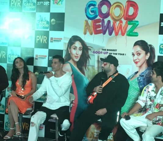 Star casts of 'Good Newwz' reached Chandigarh to film promotion