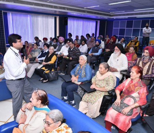 Fortis organises Awareness Workshop for the Senior Citizens on World Diabetes Day