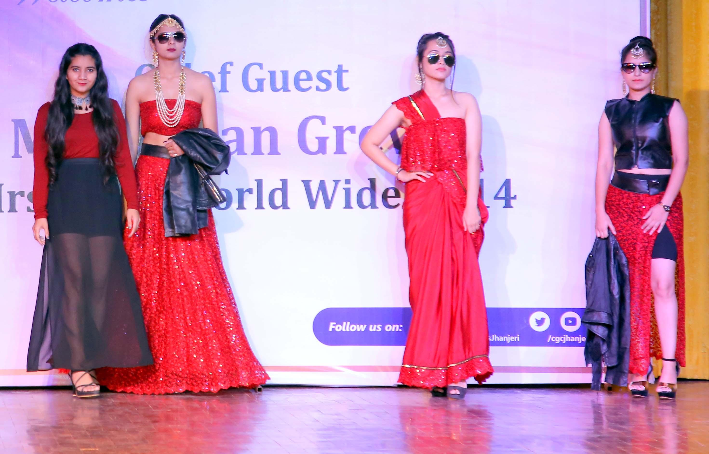CGC Jhanjeri holds State Level Fashionista – 201