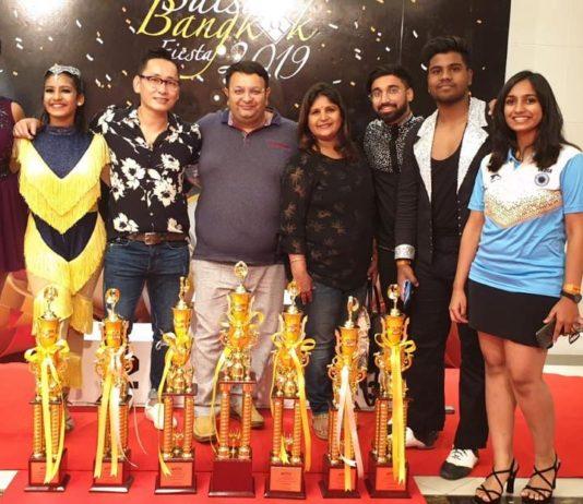 Chandigarh Dance Sports Professionals Shine at Asia Pacific International Dance Championship