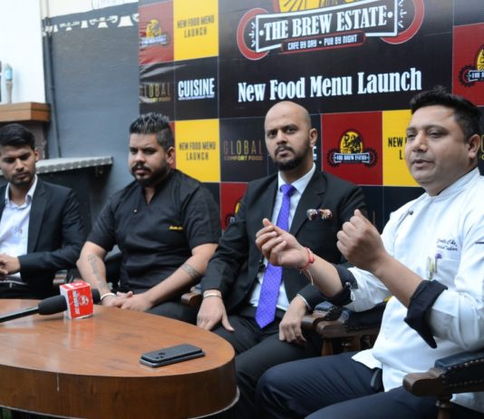 'The Brew Estate' launches mesmerizing menu across its outlets