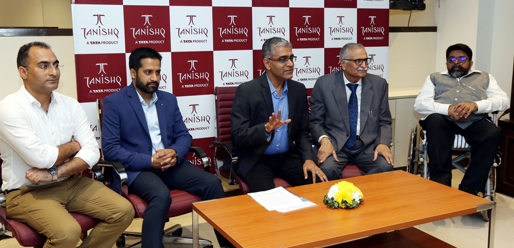 Tanishq's launched First Flagship Store in Chandigarh