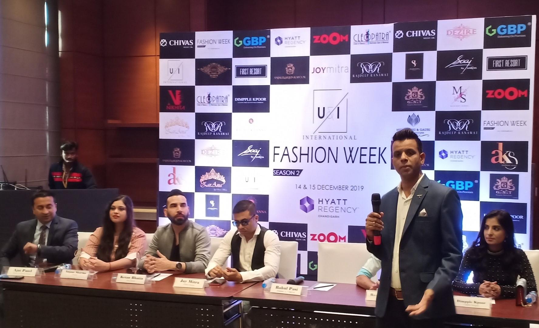 U&I International Fashion Week in Chandigarh on Dec 14-15