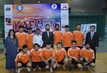 Tough Competition of Kabaddi Friendly Match