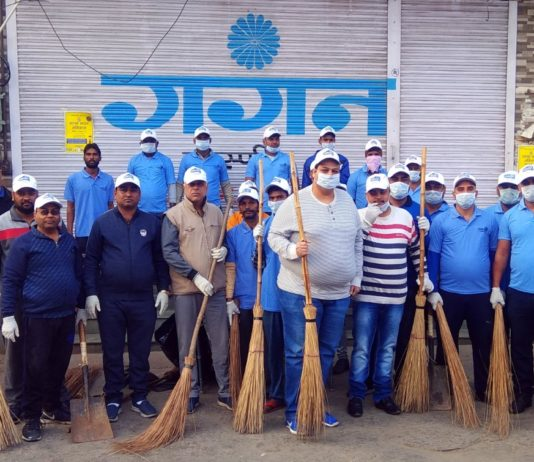 Bunge India & Kiryana Traders launch Swachh Bharat Abhiyan at Old Anaj Mandi Rohtak