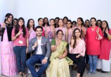 Fashion Fraternity Goes Pink this Month