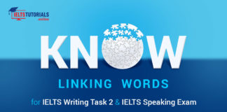 Know Linking Words for IELTS Writing Task 2 & IELTS Speaking Exam