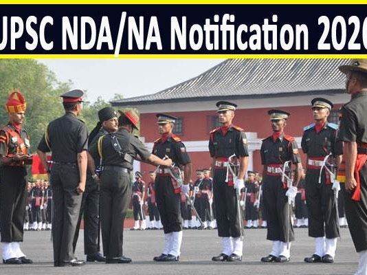 UPSC NDA, NA 2020 registration notification today