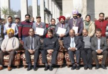 Republic Day – 2020 celebrated by BSNL Punjab, Chandigarh