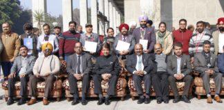 Republic Day – 2020 celebrated by BSNL Punjab, Chandigarh
